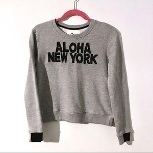 Aiko Aloha New York crewneck sweater